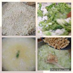 cottura riso con broccoli
