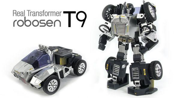 Robosen T9: arriva il Transformers reale