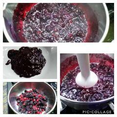 preparazione frutti di bosco