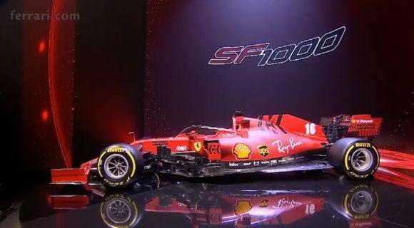 Ferrari cercherà di migliorare la SF1000 durante lo stop alla Formula 1