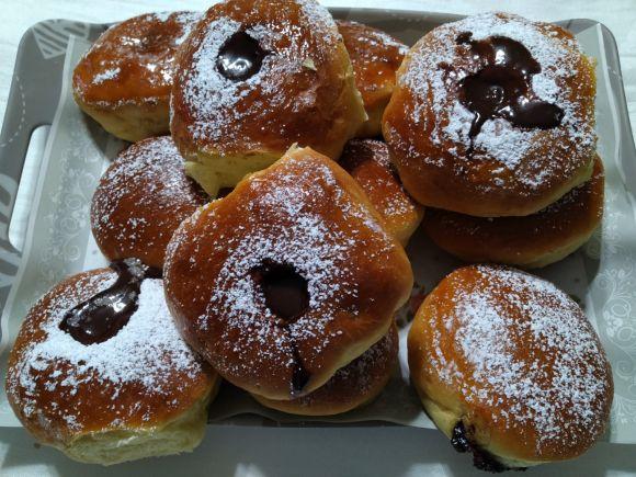 Ricetta originale tedesca, Krapfen farciti e cotti al forno