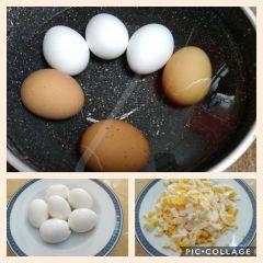 preparazione uova sode