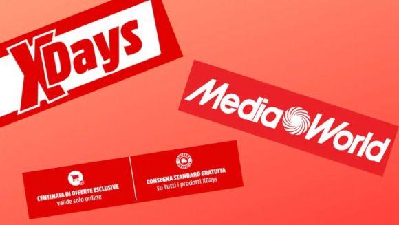 Offerte Mediaworld: Xdays, per sconti su smart Tv e smartphone
