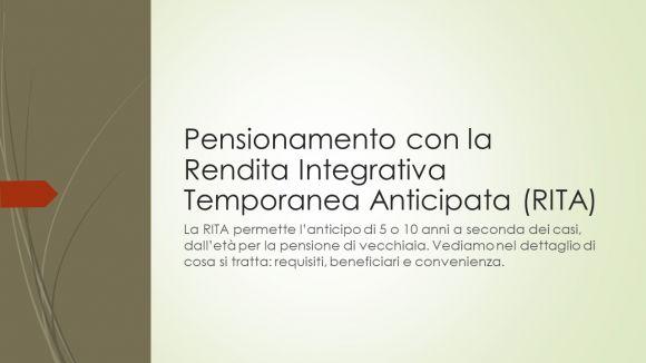 Pensionamento anticipato: rendita o pensione di vecchiaia, le alternative