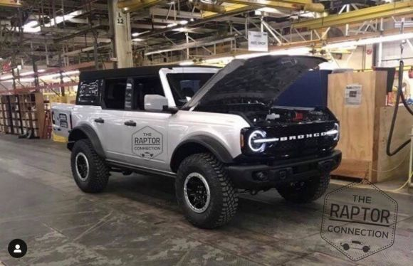 Ford Bronco alla premiere ufficiale il 18 marzo?