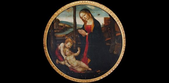 """Il mistero del quadro della """"Madonna dell'UFO"""""""