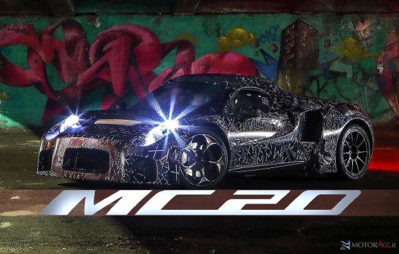 La presentazione della Maserati MC20 è stata rinviata a settembre