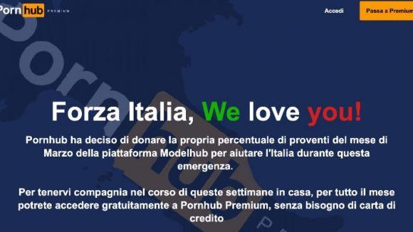 Pornhub: Premium sarà gratis in Italia
