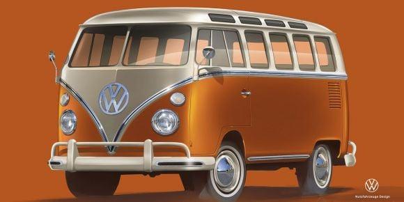Volkswagen Bulli diventa elettrico: ecco la prima immagine