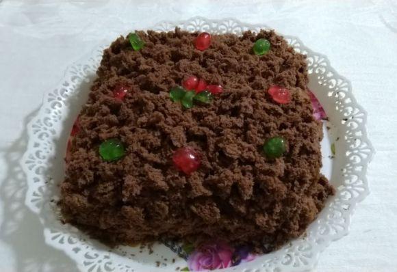 Ciocco-mimosa: variante al cioccolato, farcita di camy cream alla nutella