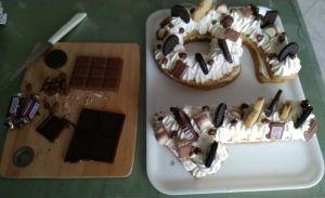 decorazione cream tart