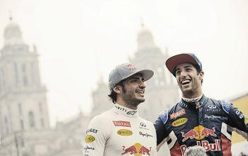 Ricciardo e Sainz