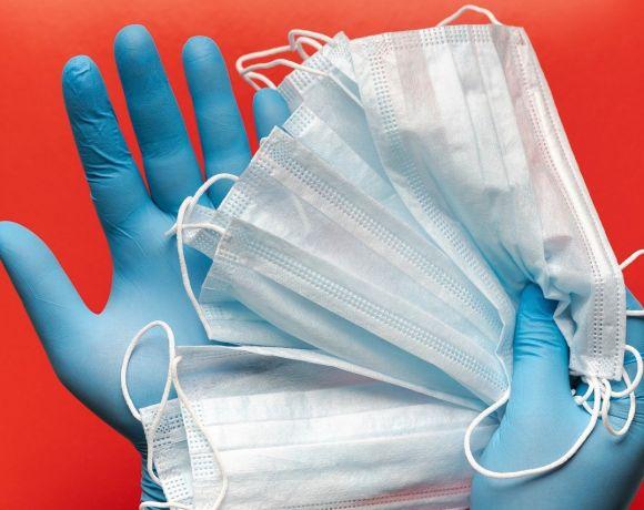 coronavirus guanti