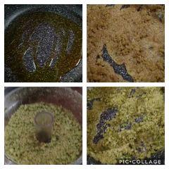 preparazione mix aromatico