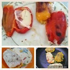 preparazione peperoni ripieni