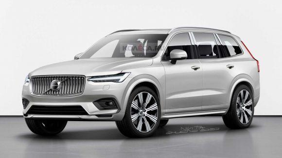 Volvo XC100: la nuova SUV Coupe elettrica sarà una versione più elegante della Xc90