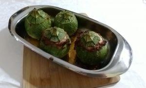 zucchine tonde imbottite