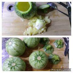 zucchine tonde svuotate