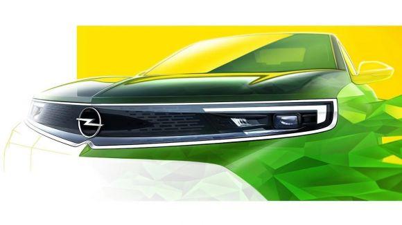 La parte anteriore della nuova Opel Mokka è stata parzialmente svelata