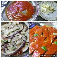 preparazione parmigiana di melanzane
