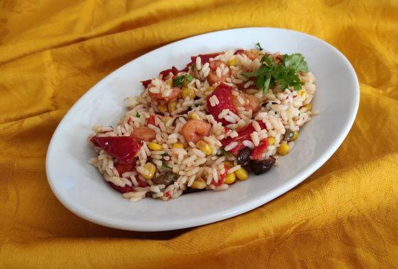 Riso peperoni e gamberetti: primo piatto appetitoso
