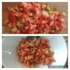 preparazione pomodori