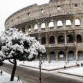 Neve a Roma: caos, scuole chiuse e niente trasporti pubblici a parte la Metro