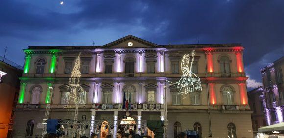Nola, Festa dei Gigli 2019: ballata Giglio Bettoliere (spogliato) – video