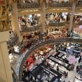 Galeries Lafayette, il centro commerciale più grande dell'occidente è in Francia